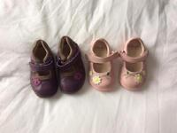 Infant girls Clarks shoes 3