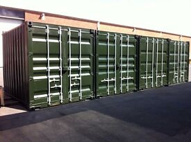 10ft x 8ft Used Quality Refurbished Containers ( converted from 20fts) UK Delivery