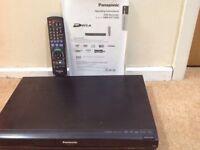 Panasonic DVD recorder with hard drive
