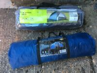 Full Camping equipment and 2 x4 person tents