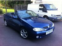 RENAULT MEGANE KARMAN MONACO EDITION SPORT CONVERTIBLE WITH NEW MOT