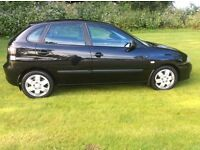 2007 Seat Ibiza 1.4 Stylance Automatic Low Miles 55k 2 owners Full Mot Only £2450