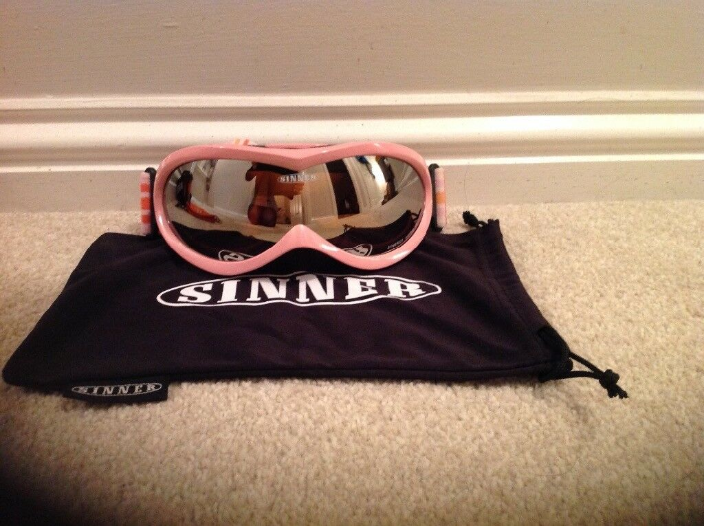 Ladies Sinner Ski/Snowboarding Goggles