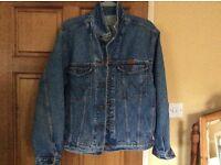 Original retro mens Wrangler Jacket £10