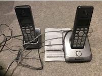 Panasonic twin digital cordless phones