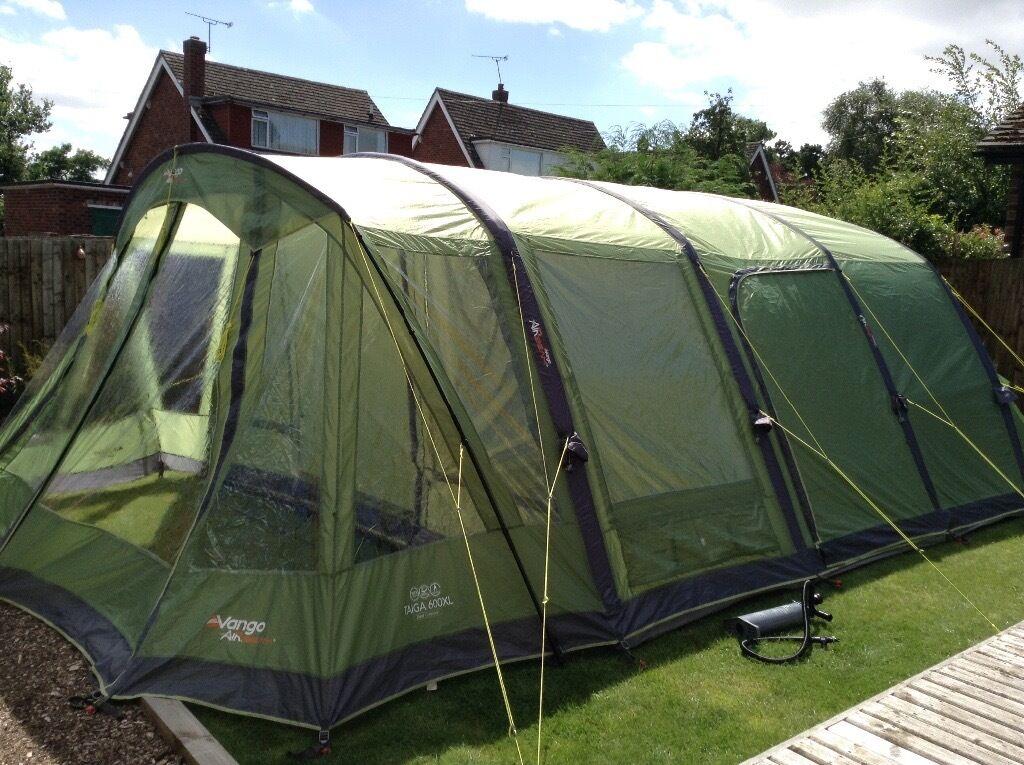 Vango Taiga 600 Xl 6 Berth Airbeam Tent 2015 Model Only