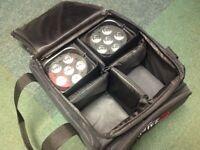 Chauvet Freedom Tri-6 Wireless Lights.