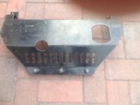 Classic mini sump guard believed to be 1960/70s.