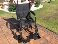 Foldable Wheelchair - immaculate - used once