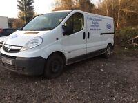 2011 Vauxhall vivaro van LWB 2.0cc diesel spares or repairs non starter