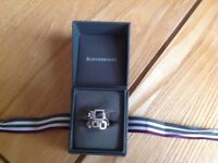 Beaverbrooks sterling silver ring