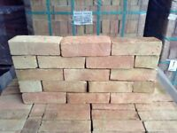 68MM HANDMADE OXFORD YELLOW MULTI WATERSTRUCK BRICKS @ £0.89 EACH.