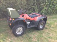 Honda fourtrax 350 quad bike