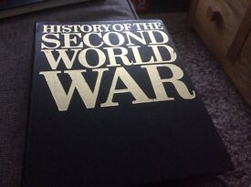 Set of History of second world books