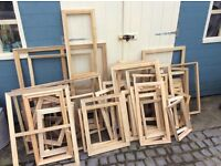 Canvas painting supports job lot