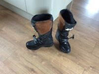 Motorbike Boots Size 41 Only used twice