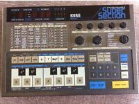Vintage classic Korg pss-50 drum machine