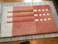 Rug, 100% wool, thick pile