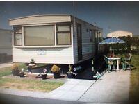 Caravan Holiday Hire, Kerfoots Caravan Park, Towyn, North Wales. RAMP ACCESS.