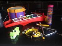 Children's /toddler musical instruments Little Tikes & ELC