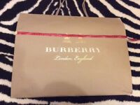 Burberry large carrier bag with measurements