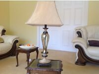 Table Lamp - Ornate, 31ins high and 15 ins wide (shade)