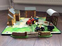 Little Red Tractor Gosling Farm Playset plus Stumpy