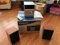 Panasonic Stereo Music System - DAB / CD / MP3