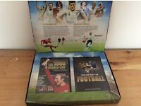World Cup DVD & history of football book set