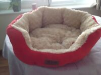 Cat or small dog bed .