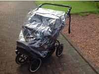 Phil and teds side by side double buggy