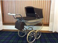 Dolls pram .. silver cross.. superb condition .. REDUCED