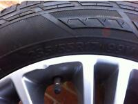 Ford kuga alloy wheel and tyre (one only)