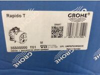 Grohe Rapido shower mixer (concealed)