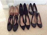 Ladies size 8 wide fit shoes