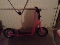 Kids pink scooter for sale