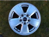Mini 15 inch alloy wheel