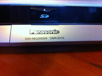 Panasonic DVD Recorder with Hard Drive and SD Card Slot
