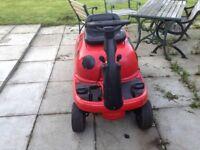 Mtd sprinto ride on lawnmower