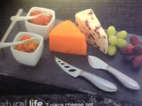 Slate cheese board/ or cake /sandwitches