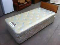 'SLEEPEZEE' SINGLE BED AND DELUXE POCKET SPRUNG MATTRESS ~ VERY CLEAN ~ CAN DELIVER TO WEST MIDLANDS