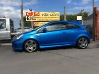 Vauxhall corsa vxr 1600 turbo 2009 38000 fsh ful year mot mint car fully serviced possible px