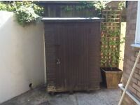 Garden Shed, 4 years old, supplied by Toby Sheds of Ipplepen