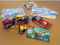 Lego Creator 3x sets - complete with instructions