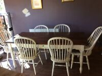 Kitchen / Dining Room table and 7 chairs