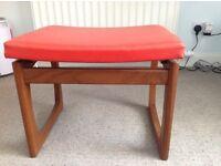 G Plan Fresco dressing table stool