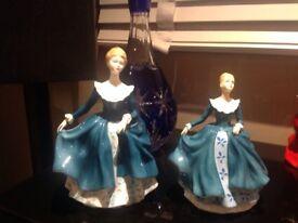 Royal Doulton Figurine Janine x 2