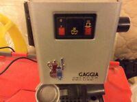 Gaggia coffee machine selecta delux
