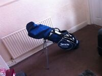golf set new srixon bag fairly new cobra driver and clubs