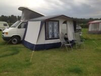 Drive away awning for campervan